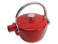 Staub Ronde theepot - kers 1,15 l