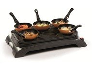 Domo DO8706W Wok party set - 1000 Watt - 6 p