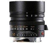 Leica M Summilux 50mm f/1.4 - Noir