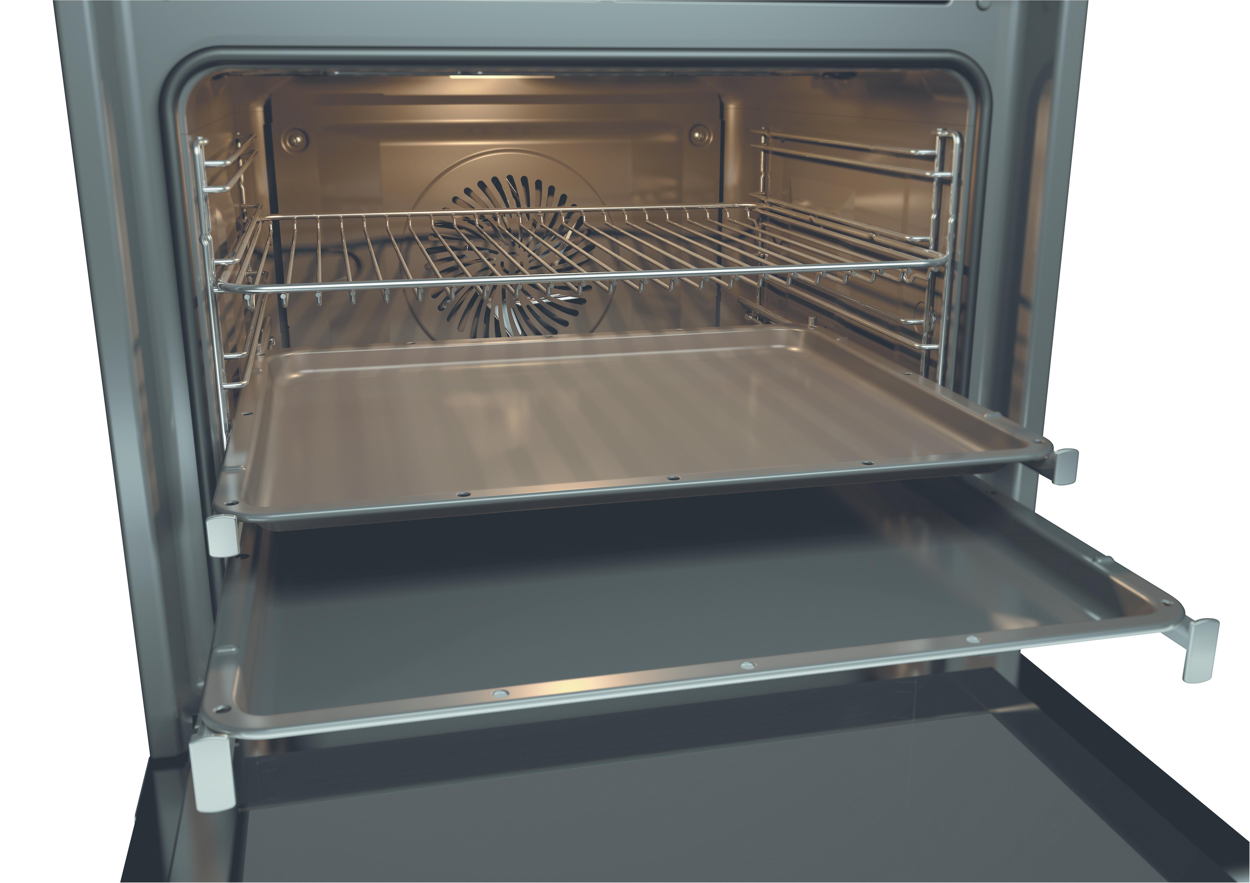 Fornuis Energieklasse A : Aeg vs mn fornuis met vitrokeramische kookplaat art craft