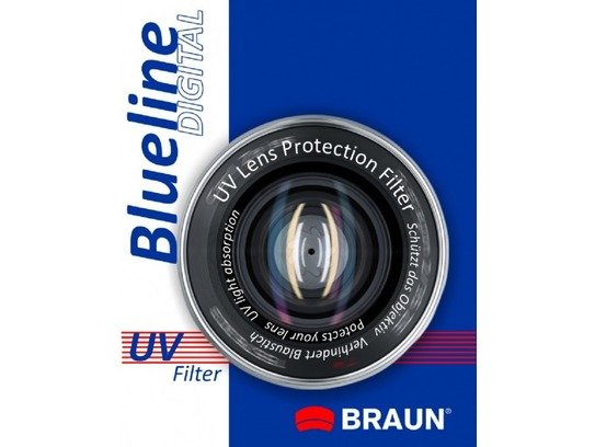 Blueline UV Filter 58mm