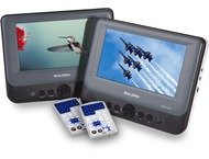 Salora Portable DVD 2x7 DVP7748