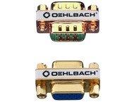 Oehlbach 9069, VGA adapter f/f, goud  OP=OP