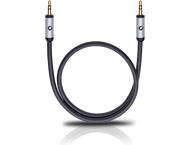 Oehlbach 60013, i-Connect 3,5-3,5 mm, 1,50m, zwart