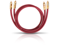 Oehlbach 2047, NF214 audiokabel 2xrca/rca m/m, 1m, antraciet