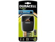 Duracell Battery Fast Charger Cef 27 With 2 Aa And 2 Aaa Bat