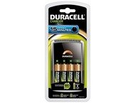 Duracell Battery Charger Cef 15 Quick Charge In 15 Min, + 4
