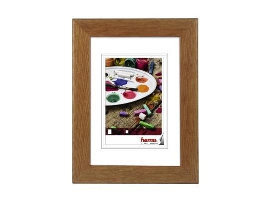 Hama Wooden Frame Riga Brown 24 X 30 Cm Art Craft