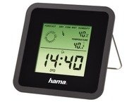 Hama Thermometer/Hygrometer Th50 Zwart