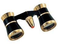 Konus Toneelkijker Opera-41 3x25 + Verlichting Zwart/Goud