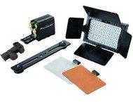 Falcon Eyes LED Lamp Set Dimbaar DV-96V-K1 op Batterij