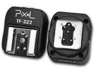Pixel I-TTL Hotshoe Adapter TF-322 voor Nikon