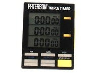 Paterson PAT800 Triple Timer Clock