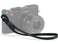Leica Wrist Strap Leather Black (X And M) (18782)