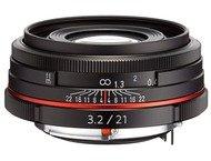 Pentax Objectif K 21mm f/3.2 AL Limited Black pour HD DA