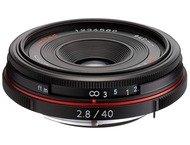 Pentax SMC DA 40mm f/2.8 Limited - Noir