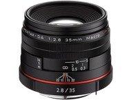 Pentax K-objectief 35mm Macro f/2.8 Limited Noir voor HD DA