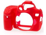 Easycover bodycase voor Canon 70D rood