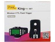 Pixel i-TTL Radio Trigger Set King Pro voor Nikon