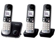 Panasonic KX-TG6813BLB Triple Digitale Dect Black