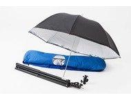 Lastolite Umbrella Kit 72cm + Stand  2422 Tilthead Shoe Loc