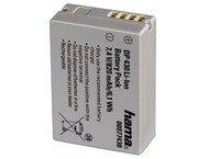 Hama Batterie Li-Ion DP 430 820mA / 7,4V (équivalent Canon N