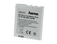 Hama Batterie Li-Ion DP 231 700mAh/3,7V(éq. Fuj/Pen/BeQ/Sam/