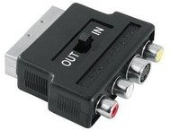 Hama video adapter S-VHS/3 RCA - scart IN/OUT