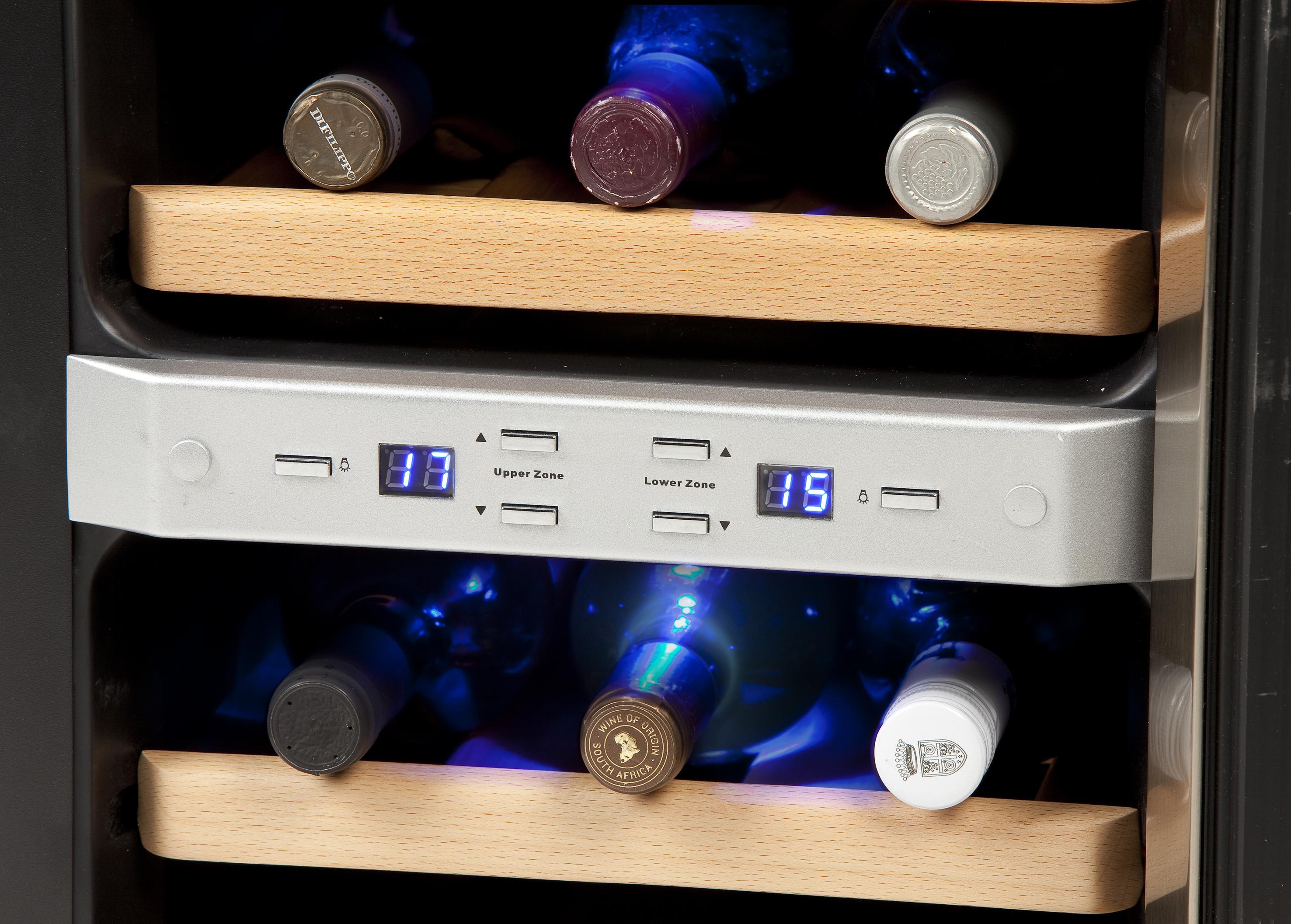 Wijnkoeler Met Licht : Facet wijnkoeler eucalyptus la boutique blanche