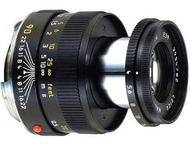 Leica M-90mm F4.0 Macro-Elmar-Kit Black - (11629)
