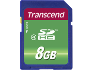 TRANSCEND SDHC 2.0 8GB CL4