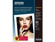 Epson Matte Archival Paper A3 50 vel - C13S041344