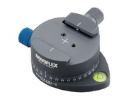 Novoflex Panorama plate with click-stops 0-36 steps and quic