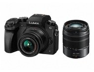 Panasonic DMC G7 Body + 14-42mm + 45-150mm - Zwart