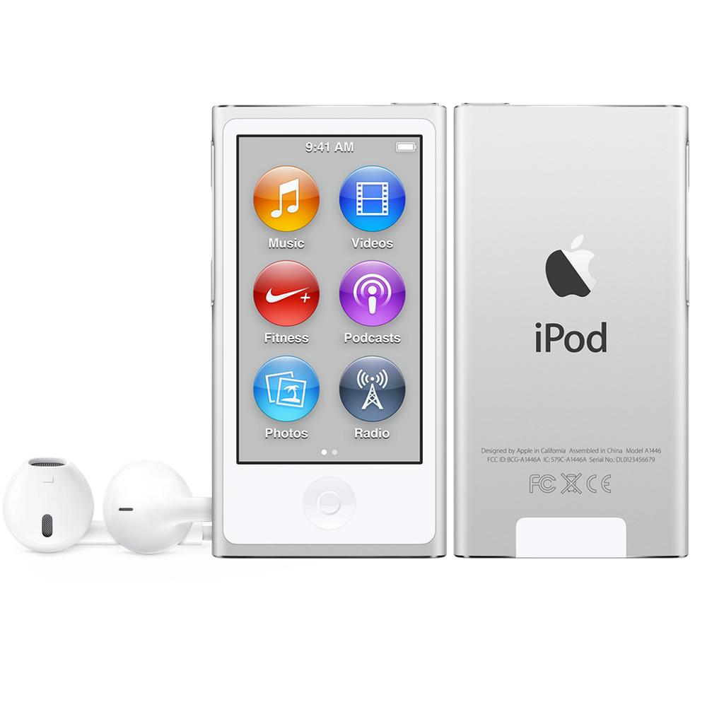 16gb Silvers: Apple Ipod Nano 16Gb Silver - 2015 Model