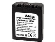 Hama Batterie Li-Ion DP 307 700mAh / 7,2V (équivalent Panaso