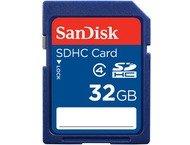 Sandisk Carte mémoire SDHC Standard, 32GB, Cl.4