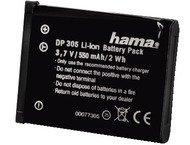 Hama Batterie Li-Ion DP 305 pour Olympus, Fuji, Pentax, Vivi