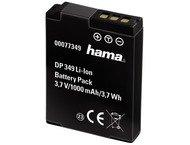 Hama Batterie Li-Ion DP 349 950mAh / 3,7V (équivalent Nikon