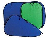 Lastolite collapsible reversible Blue/Green 1.5x1.8m