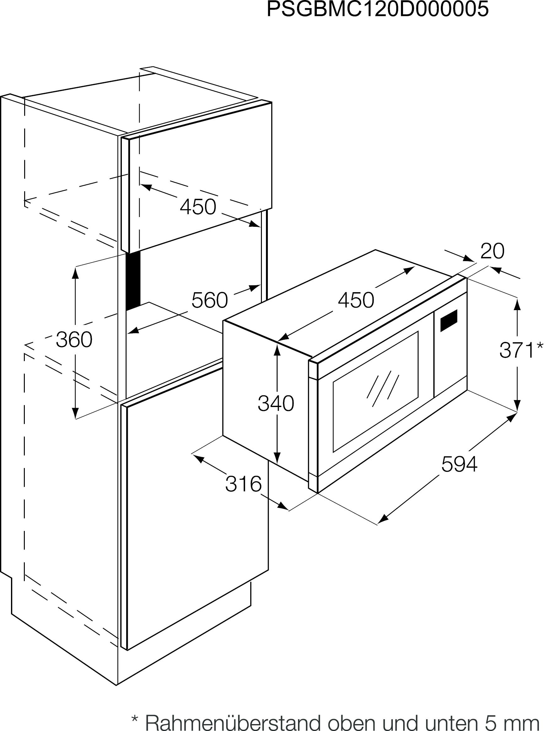 aeg mcd1763e m compact microgolfoven grill 35 cm inox. Black Bedroom Furniture Sets. Home Design Ideas
