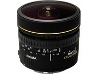 Sigma 8mm F3.5 EX DG Fisheye circ. Canon AF
