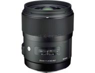 Sigma 35mm F1.4 DG HSM (A) Canon