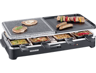 Severin RG2341 Raclette Party Grill met natural grill stone