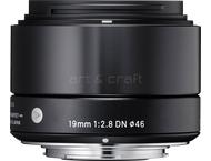 Sigma 19mm F2.8 DN Art Micro four Thirds (black)