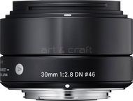 Sigma 30mm F2.8 DN Art Sony E-mount (black)
