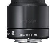 Sigma 60mm F2.8 DN (A) Micro Four Thirds (black)