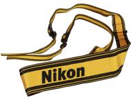Nikon AN-6Y Brede nylon draagriem (geel en zwart) voor Alle