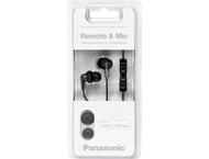 Panasonic RP-HJC120E-K In Ear Hoofdtelefoon Black