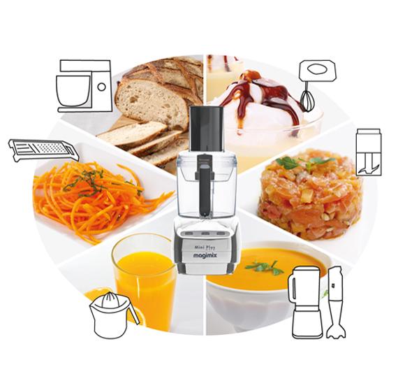 magimix robot de cuisine mini plus noir art craft. Black Bedroom Furniture Sets. Home Design Ideas